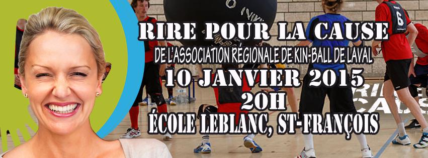 Rire au profit du kin-ball de Laval - L'Écho de Laval