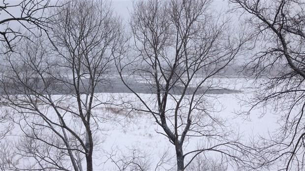 un ruisseau sur la rivi u00e8re des prairies