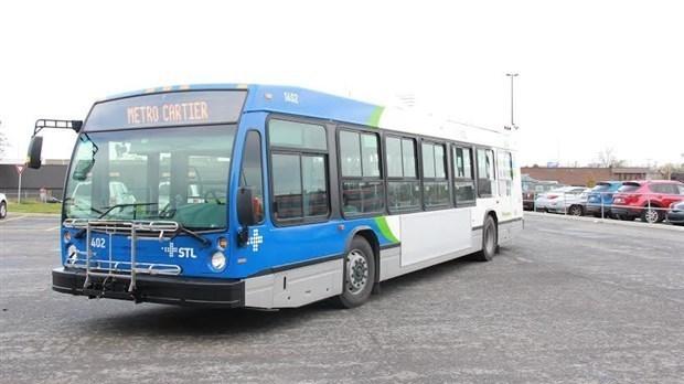La SAAQ s'attaque aux autobus des grandes villes — Poids des véhicules